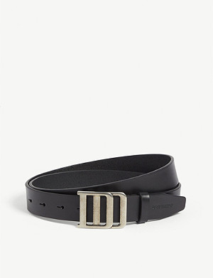 DSQUARED2 ACC DD vintage buckle leather belt