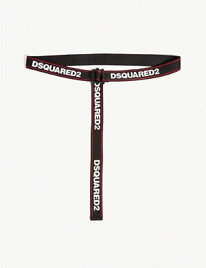 DSQUARED2 ACC Logo tape belt