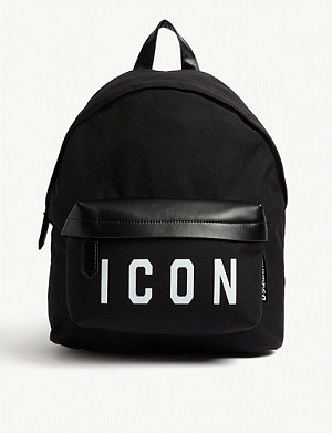 DSQUARED2 ACC Icon nylon backpack