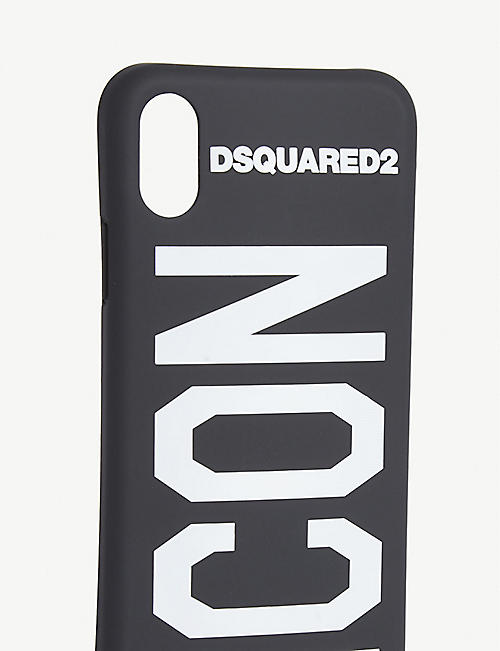 DSQUARED2 ACC Embossed branding iPhone X case