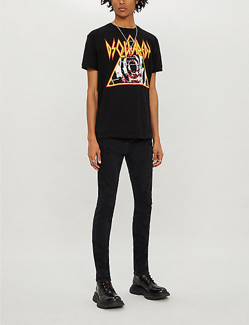 DSQUARED2 Graphic-print cotton-jersey T-shirt