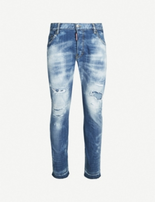 DSQUARED2 Kenny distressed slim-fit skinny jeans