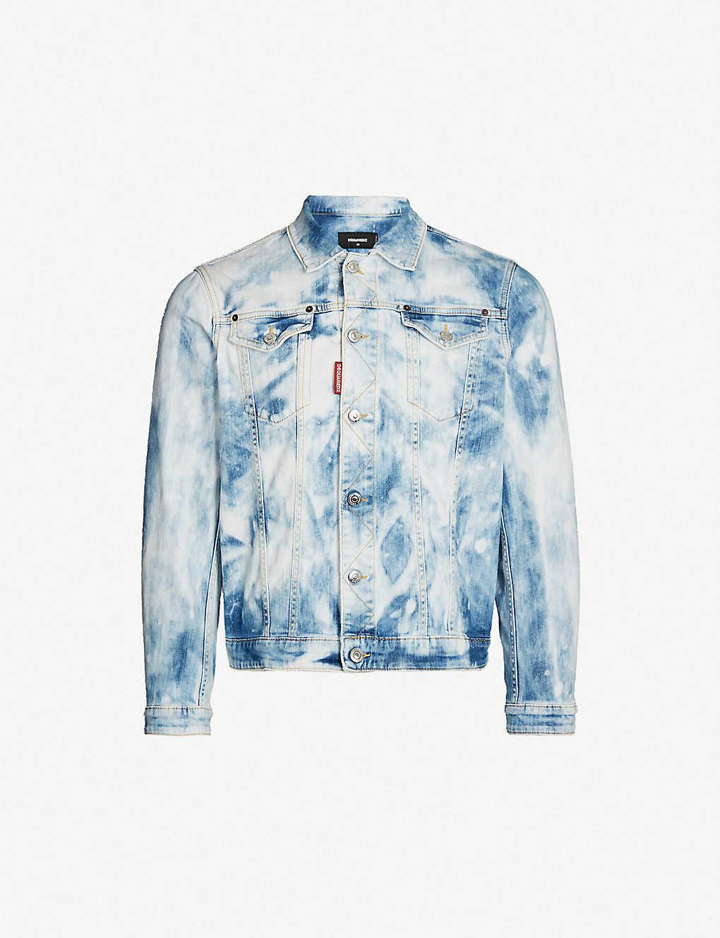 350d1f585 DSQUARED2 - Dan bleached denim jacket | Selfridges.com