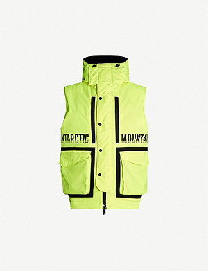 DSQUARED2 Antarctic Mountain padded shell jacket