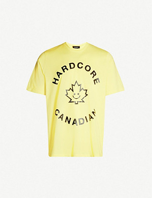 DSQUARED2 Hardcore Canadian cotton-jersey T-shirt