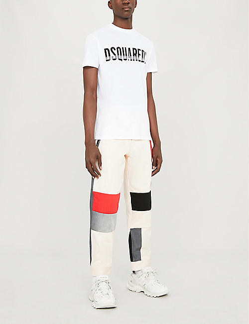 DSQUARED2 Logo-print cotton-jersey T-shirt