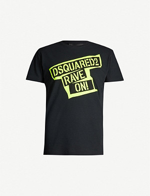 DSQUARED2 Rave On cotton T-shirt