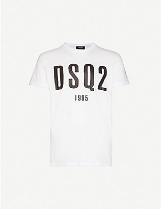 DSQUARED2: Graphic-print short sleeve T-shirt