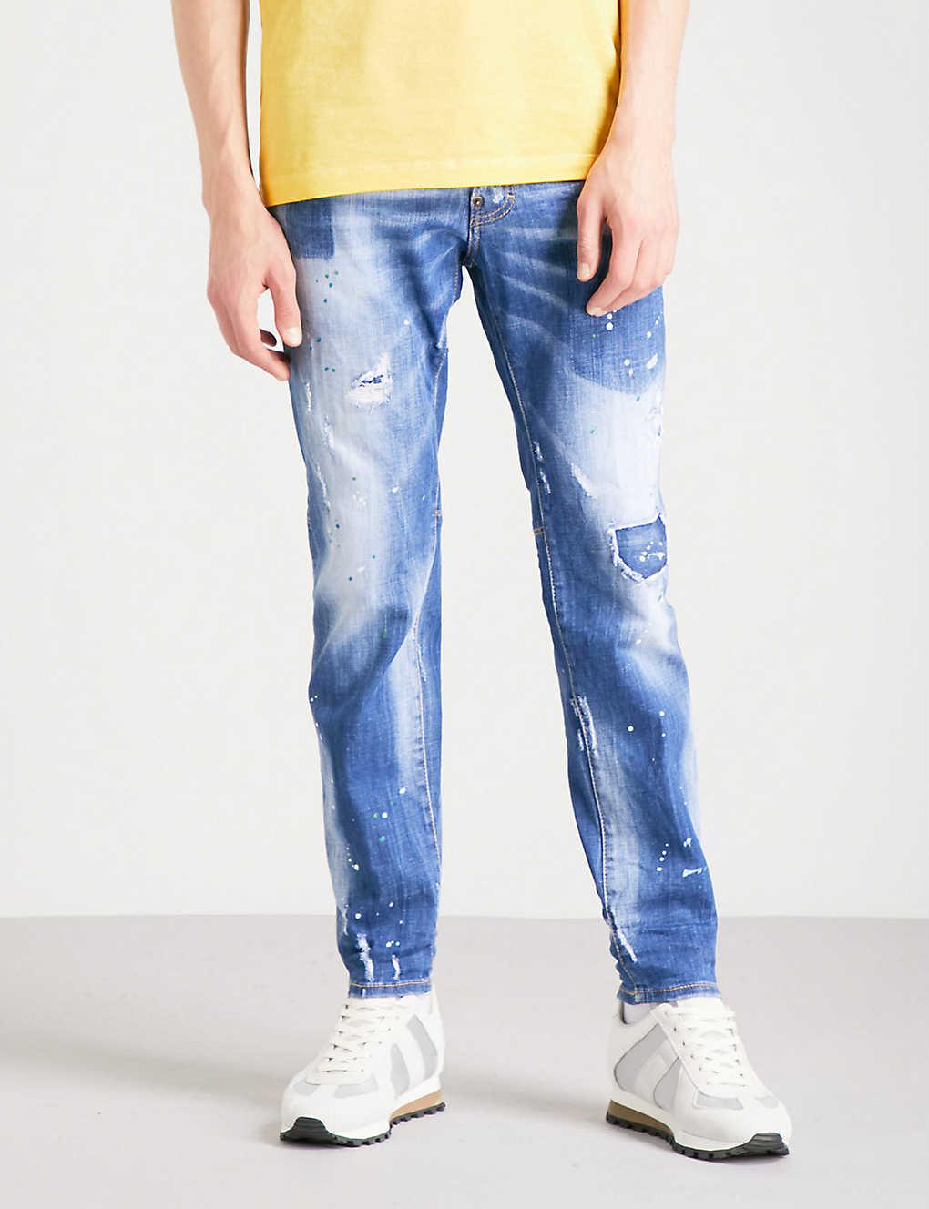 e77653a0 DSQUARED2 - City Biker slim-fit skinny jeans | Selfridges.com