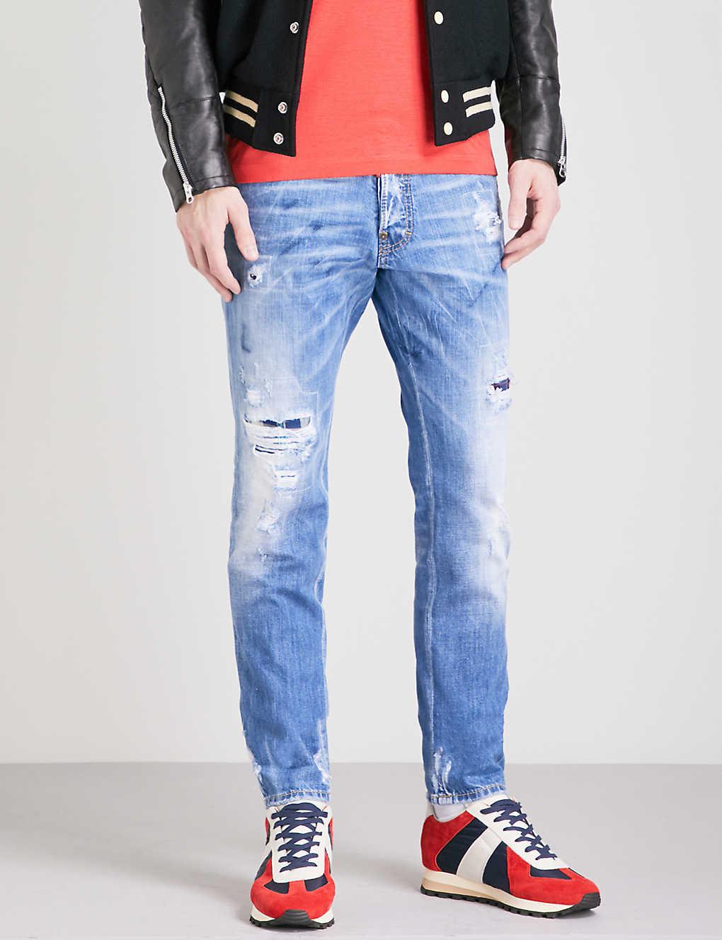60af7726c3 DSQUARED2 - Cool Guy slim-fit skinny jeans