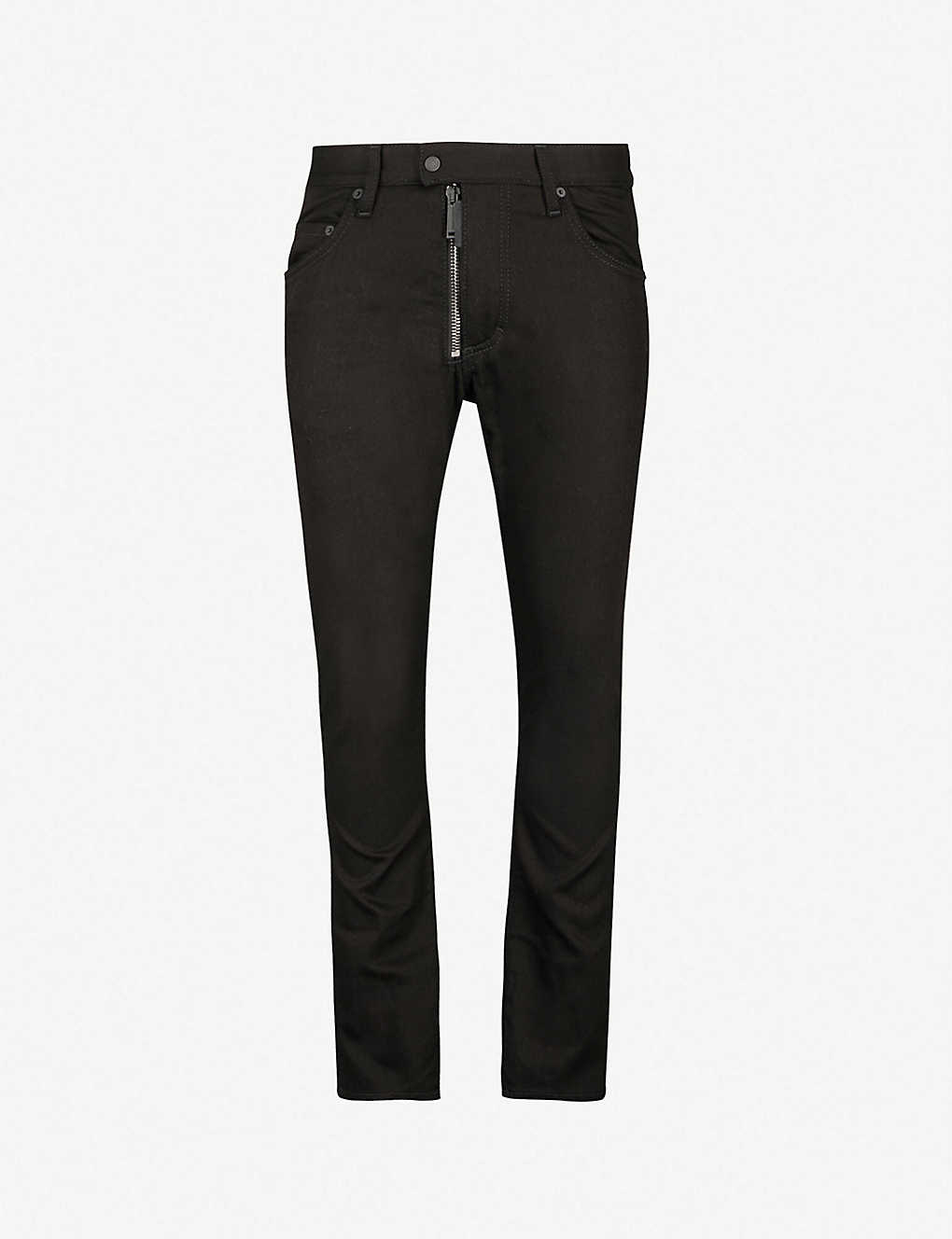 1e3a1f3c6 DSQUARED2 - Skater slim-fit zip-detail skinny jeans | Selfridges.com