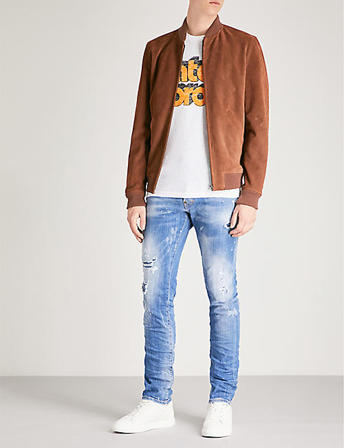 f26bb8fa0e40 DSQUARED2 Cool Guy slim-fit skinny jeans
