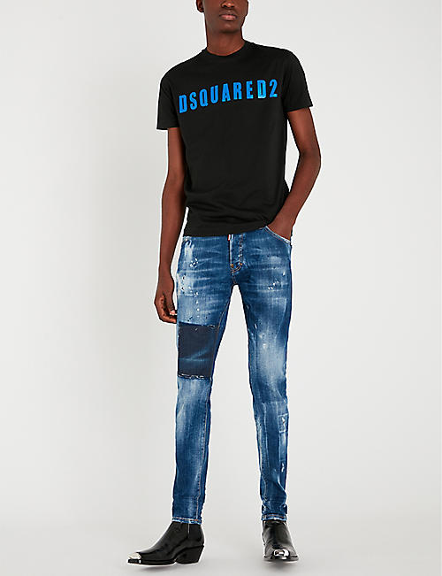 0182bc55bf35 DSQUARED2 Cool Guy distressed slim-fit skinny jeans