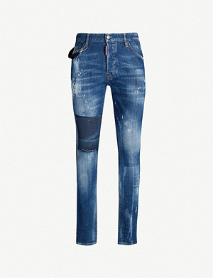 DSQUARED2 Cool Guy distressed slim-fit skinny jeans