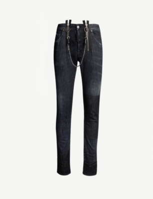 DSQUARED2 Skater ripped slim-fit skinny jeans