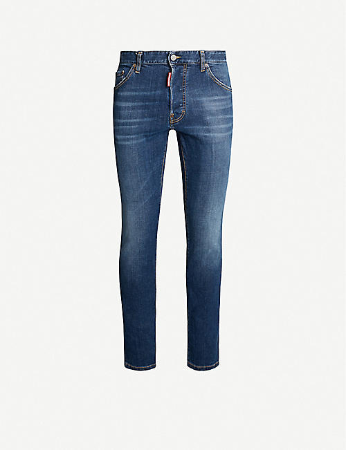 DSQUARED2 Cool-guy stretch-denim skinny jeans