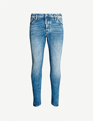 DSQUARED2 Sexy Twist slim-fit stretch-denim skinny jeans