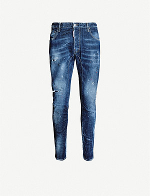 DSQUARED2 Tidy Biker slim-fit stretch-denim skinny jeans