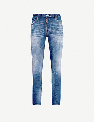 DSQUARED2 D2 jean skater cloudy wash