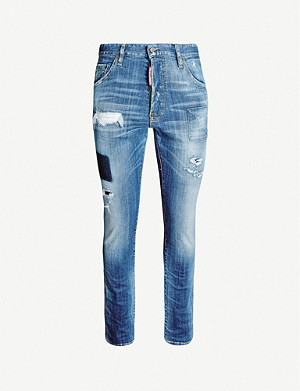 DSQUARED2 Cool Guy distressed slim-fit jeans
