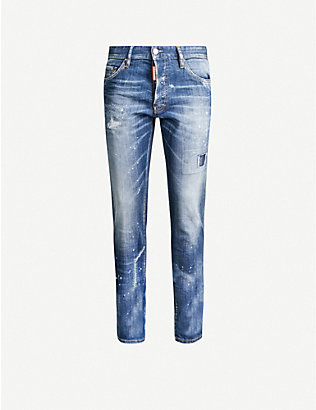 DSQUARED2: Cool Guy stretch-denim jeans
