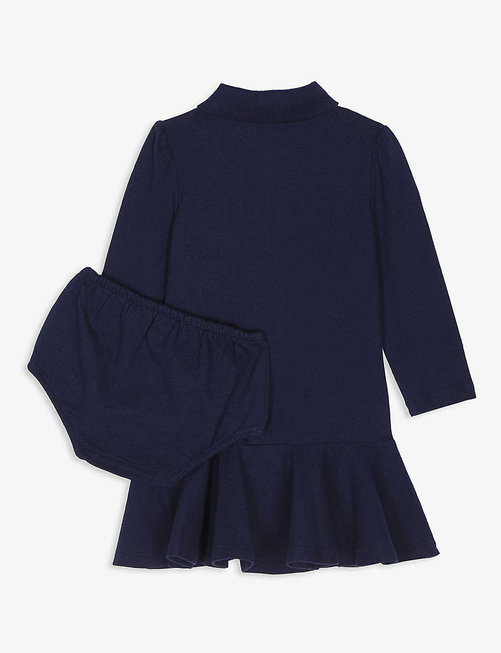 0d1dee48fd RALPH LAUREN - Pony pique-cotton polo dress 3-24 months | Selfridges.com