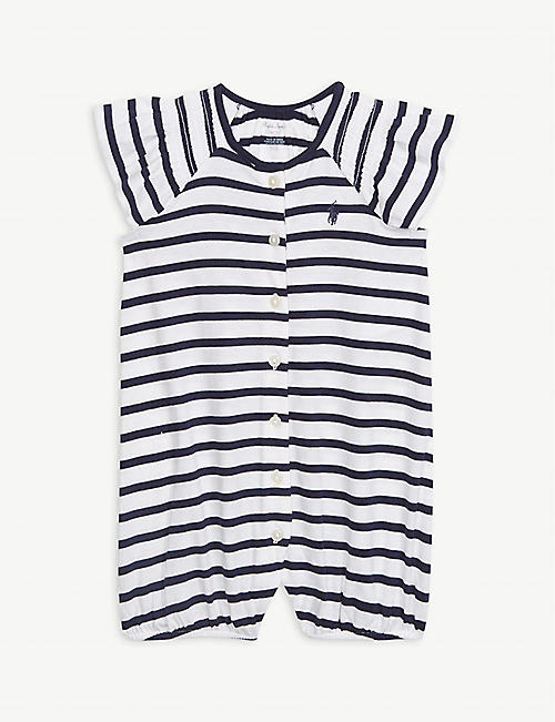 b4f493ab4 RALPH LAUREN Cotton stripe bubble romper 3-12 months