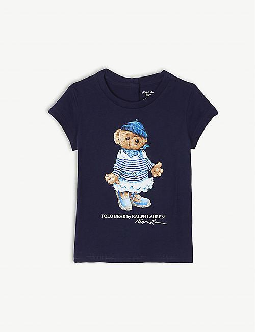 1f4465725 RALPH LAUREN Polo Bear cotton T-shirt 9-24 months