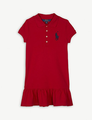 RALPH LAUREN Cotton polo dress 2-6 years