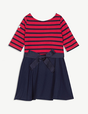 RALPH LAUREN Stripe ponte dress 2-6 years