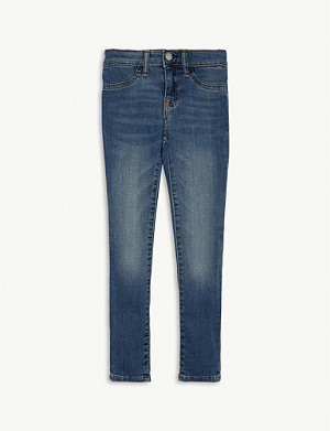 RALPH LAUREN Aubrie denim skinny jeans 7-16 years