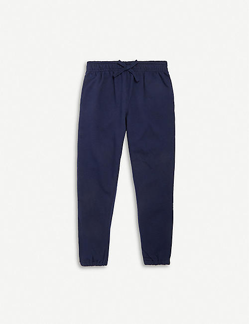 RALPH LAUREN Side-striped cotton jogger trousers 2-5 years