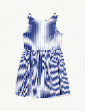 RALPH LAUREN Bengal striped dress 4-14 years