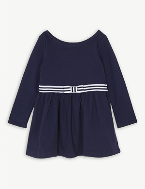 RALPH LAUREN Ponte Fit-and-Flare Jersey Dress 1.5-6.5 years