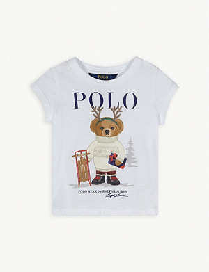 RALPH LAUREN Winter polo cotton T-shirt 2-4 years