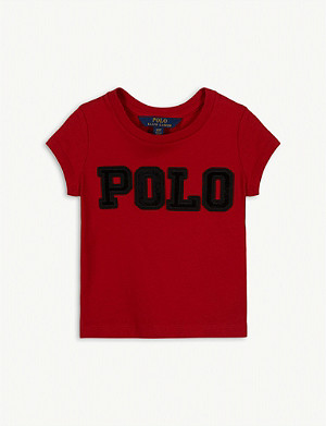 RALPH LAUREN Polo logo cotton T-shirt 2-4 years