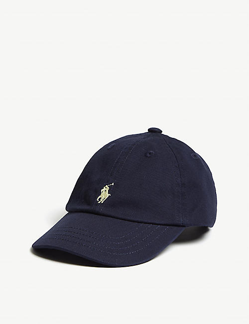 2fcd49ccd28 RALPH LAUREN - Logo cotton chino baseball cap
