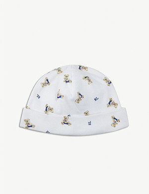 RALPH LAUREN Polo bear cotton hat