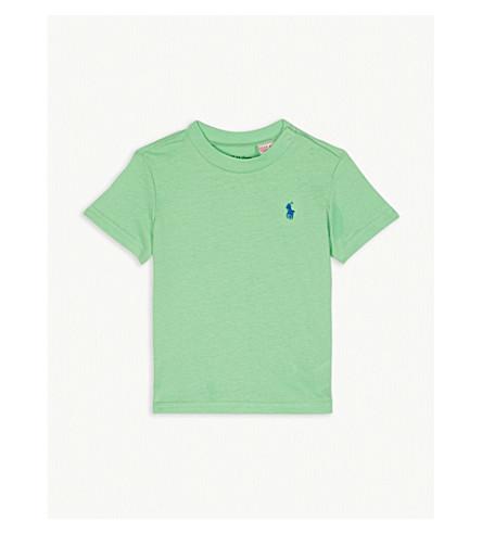 4e16e9b03 RALPH LAUREN Logo cotton T-shirt 3-24 months (New+lime