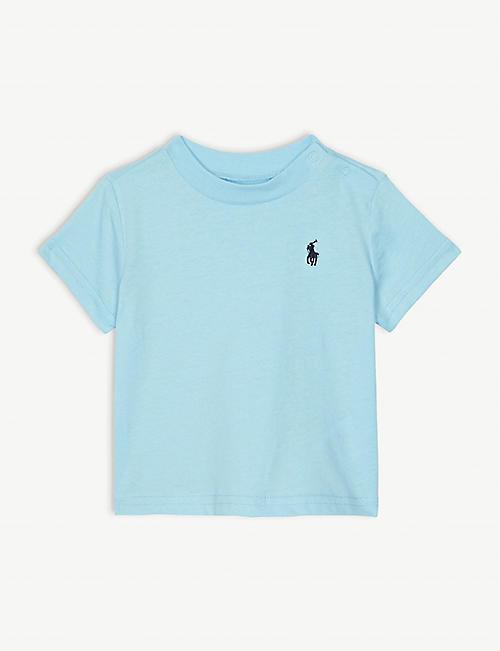 RALPH LAUREN Logo cotton T-shirt 3-24 months 5e6f6d7405