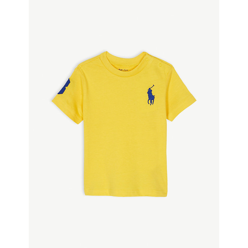 RALPH LAUREN | Cotton T-Shirt 3-24 Months | Goxip