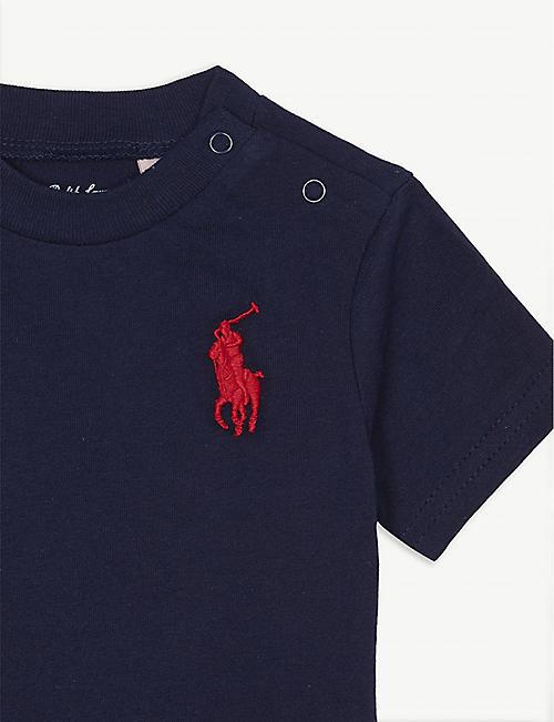 0e51b2c96585e RALPH LAUREN Cotton T-shirt 3-24 months