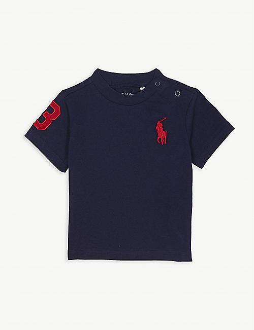 e1a9425c7a5f RALPH LAUREN Cotton T-shirt 3-24 months