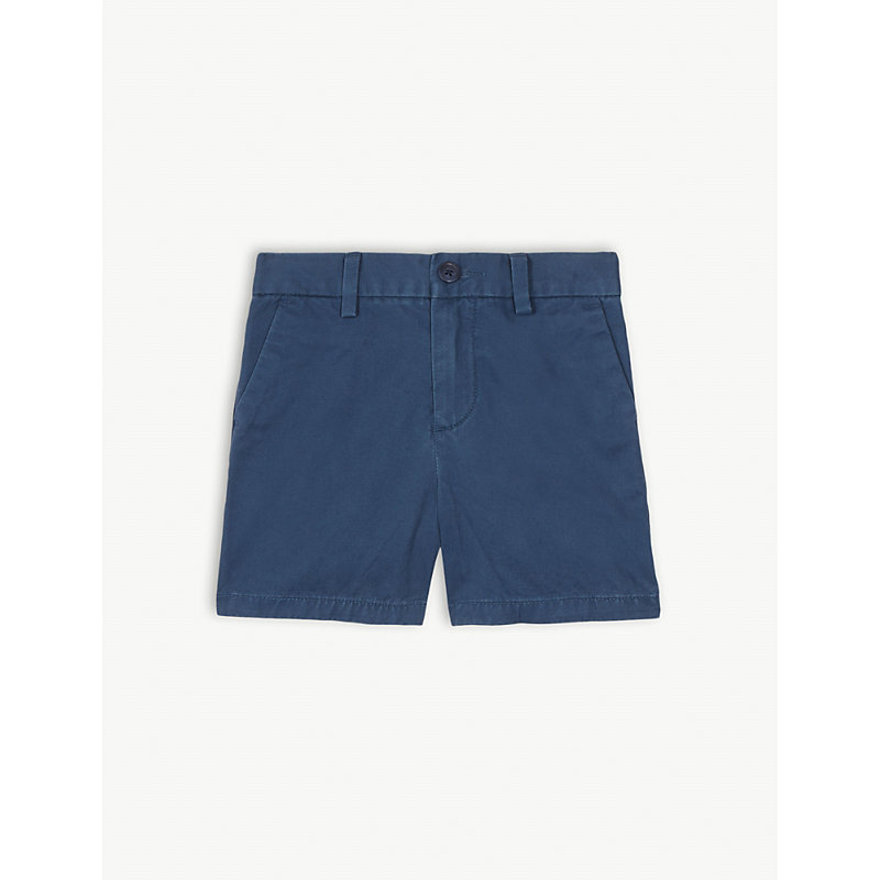 RALPH LAUREN   Cotton Chino Shorts 3-24 Months   Goxip