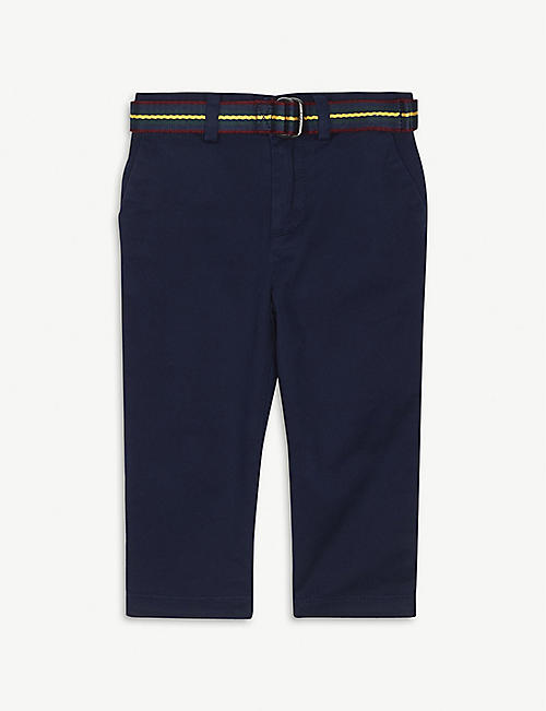 RALPH LAUREN Preppy cotton trousers 3-24 months