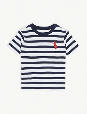 RALPH LAUREN Breton striped cotton T-shirt 3-24 months