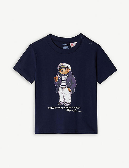 9272870c2 RALPH LAUREN Polo Bear cotton T-shirt 3-24 months