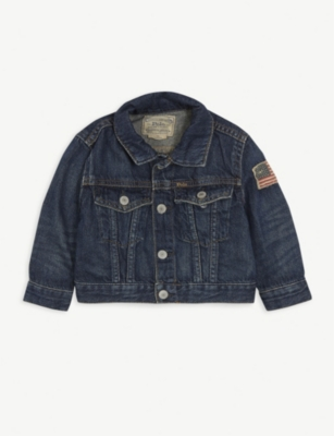 RALPH LAUREN Denim trucker jacket 3-12 months