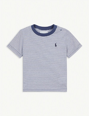 RALPH LAUREN Breton stripe cotton T-shirt 3-36 months