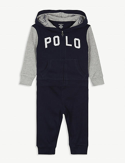 RALPH LAUREN Polo hooded tracksuit 3-24 months